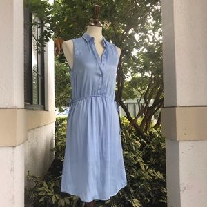 H&M Blue Summer Dress with side Tie